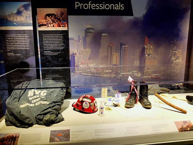 9/11 Tribute Museum in New York - Artefacts