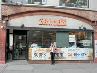 Classic Film Tour in New York - Zabar's