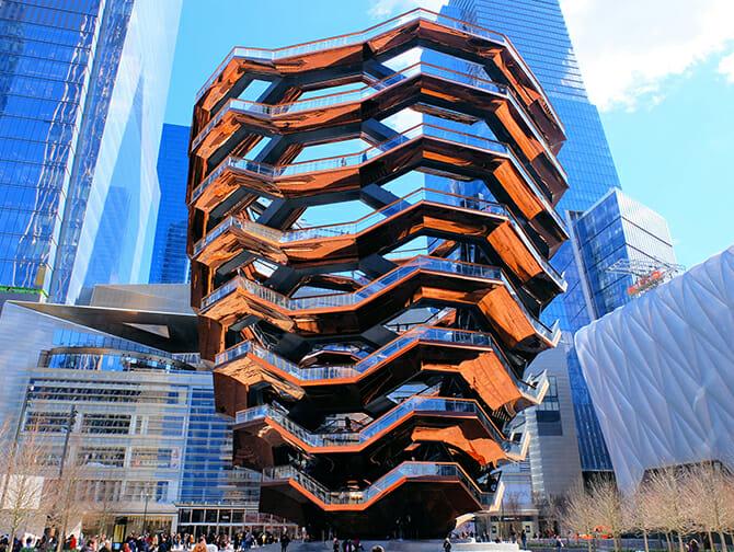 Hudson Yards Vessel in New York