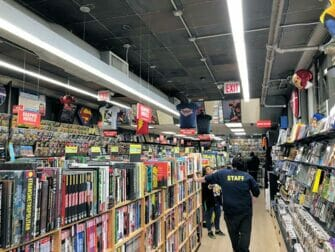 Superheroes Tour in New York - Comic-Book Store