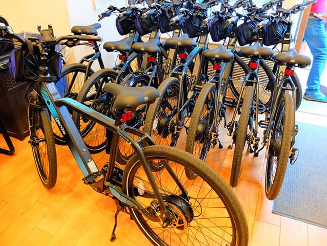 Electric Bike Tour in New York - E-Bikes