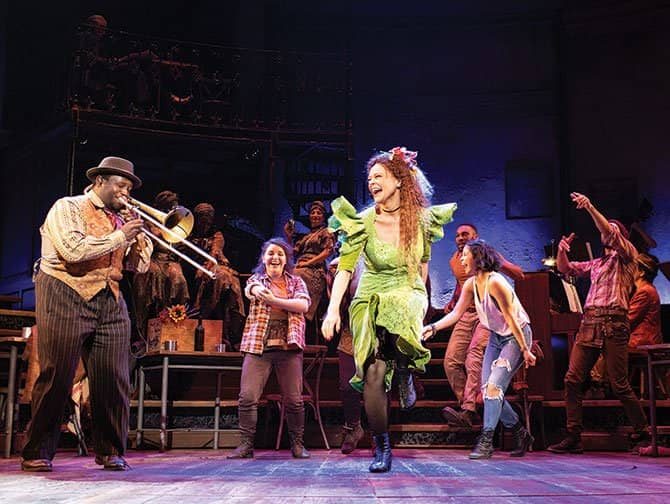 Hadestown on Broadway Tickets - Dancing