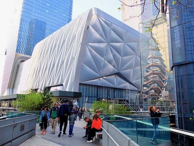 Hudson Yards in New York The Shed