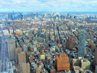 Difference between New York Sightseeing Flex Pass and Sightseeing Day Pass One World Observatory