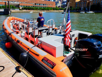 High Speed Boat Tour in New York RIB Boat