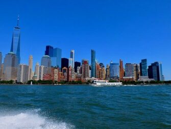 High Speed Boat Tour in New York View from the Boat