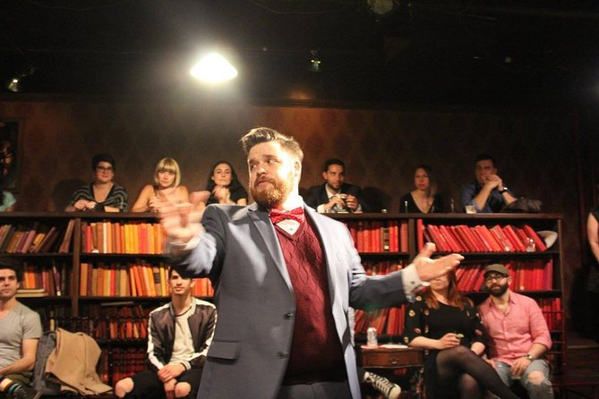 Drunk Shakespeare in New York Tickets Performance