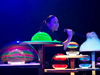 Gazillion Bubble Show on Broadway Tickets Impressive Bubbles