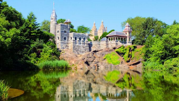 Belvedere Castle in Central Park Zoom