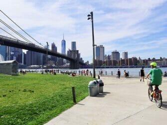 Eco friendly New York trip Biking in Brooklyn