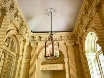The Frick Collection in New York Ceiling