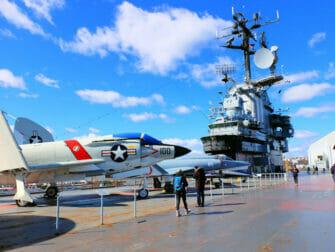Fleet Week Intrepid Museum