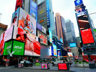 Glee Tour in New York Times Square
