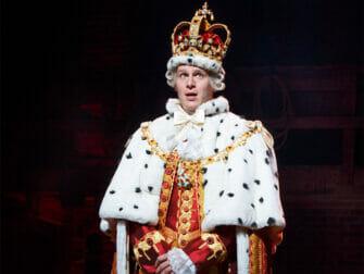 Hamilton on Broadway Tickets The King