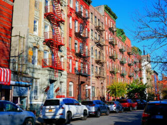 Lower East Side in New York Fire Escapes