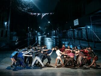 West Side Story on Broadway Tickets Family Battle