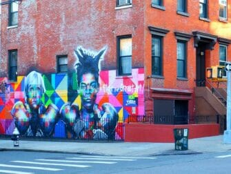 Williamsburg in Brooklyn Street Art