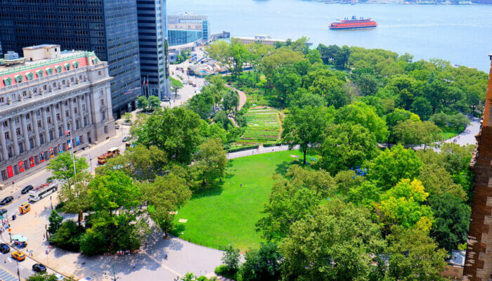 Parks in New York - Battery Park