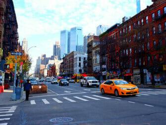 Hells Kitchen in New York Neighbourhood