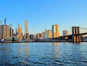 Filming Locations in New York Brooklyn Bridge