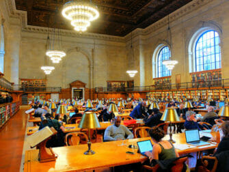 Filming Locations in New York Public Library