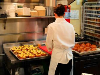 Best Doughnuts in New York Dominique Ansel Bakery Inside
