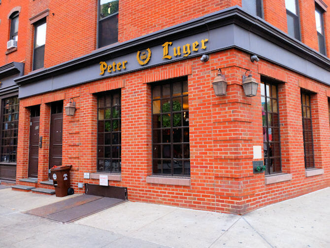 Best Steakhouse in New York Peter Luger