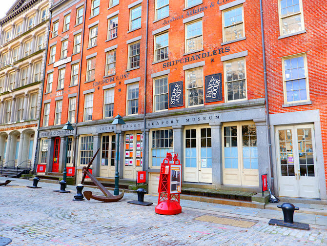 South Street Seaport in New York