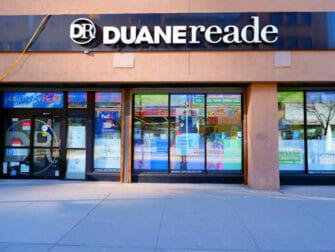 Supermarkets in New York Duane Reade