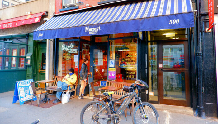 Best Coffee Shops and Bagel Bars in New York Murrays Bagels
