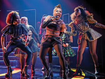 SIX on Broadway Tickets Singing