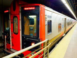 Metro North Railroad in New York