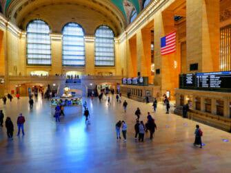 Metro North Railroad in New York Grand Central in New York