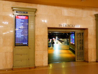 Metro North Railroad in New York Metro North in Grand Central