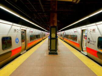 Metro North Railroad in New York Track