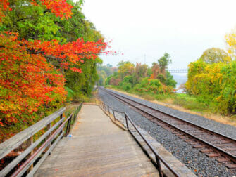 Metro North Railroad in New York Upstate