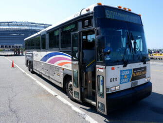 New Jersey Transit in New York NJ Transit Bus