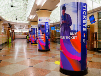 New Jersey Transit in New York Station