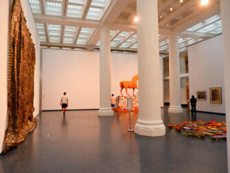 Brooklyn Museum in New York Inside the museum