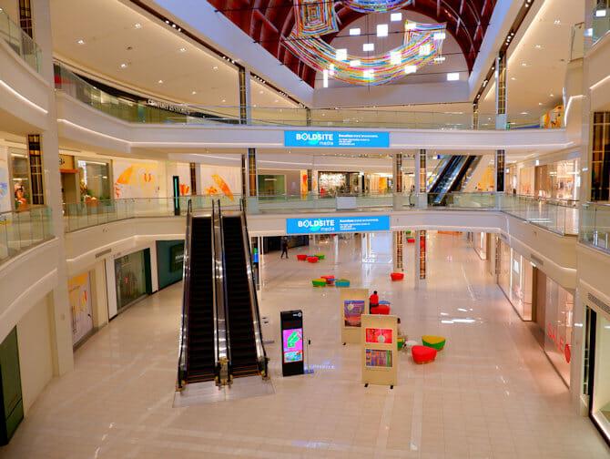 American Dream Mall near New York