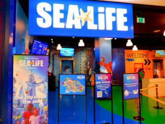American Dream Mall near New York SEA LIFE Aquarium