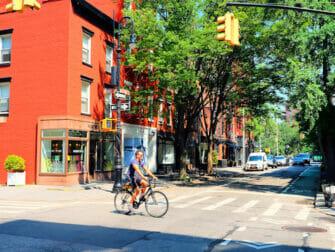 Manhattan in New York - Greenwich Village