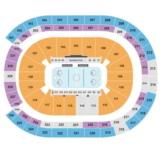 New York Islanders Tickets - Seating Chart