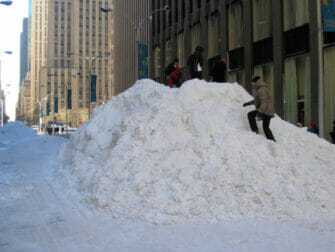 Snow in New York Snow