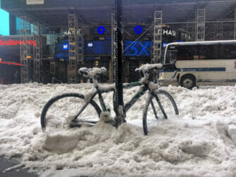 Snow in New York Transportation